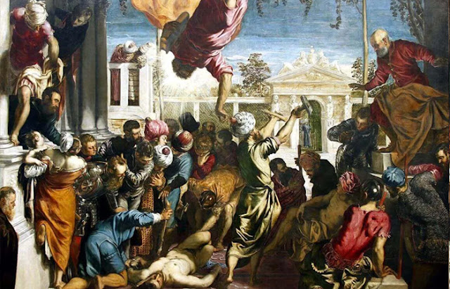 O Milagre de São Marcos. Jacopo Tintoretto. 1548 / Foto: art-dnevnik.ru