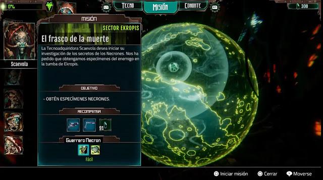 Warhammer 40000 Mechanicus - Misiones