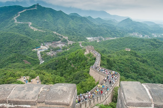 La gran muralla China. Excursion desde Pekin