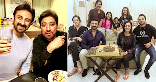 Javeria Saud Invited Actress Tasmina Sheikh with Family for Dinner