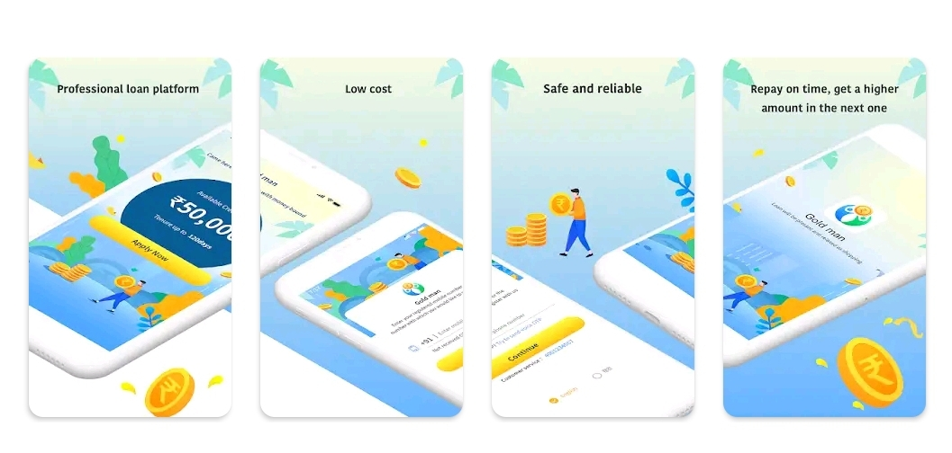Gold man loan app India
