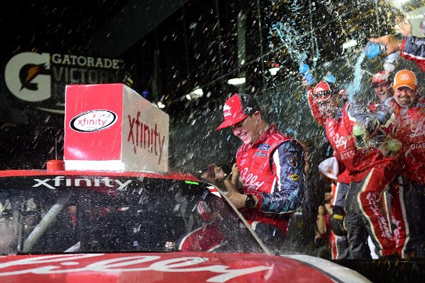 Saturday night, the No. 16 Ryan Reed of Roush Fenway Racing found himself in victory lane for the second time in three years at Daytona.