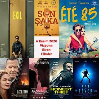 Vizyona Giren Filmler 6 Kasım 2020