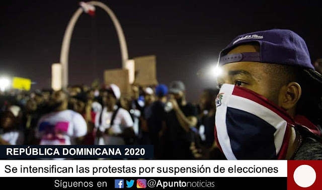 jce,protestas,elecciones