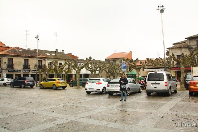 Plaza de Fefiñans de Cambados