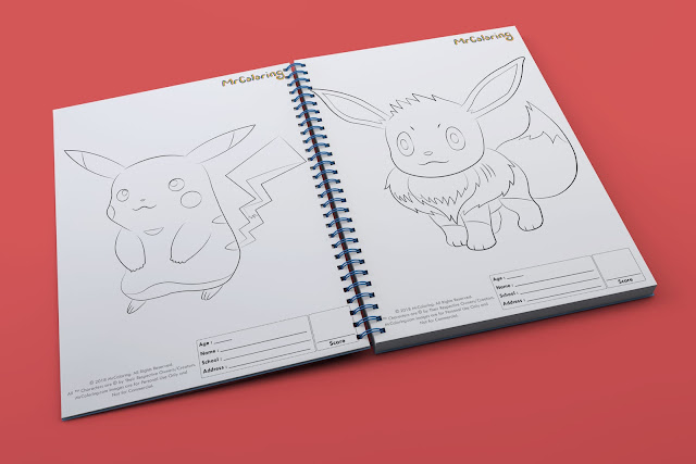 printable Anime pikachu  pokemon template outline coloriage Character Blank coloring pages book eevee pdf pictures to print out for kids to color fun colouring page children toddler