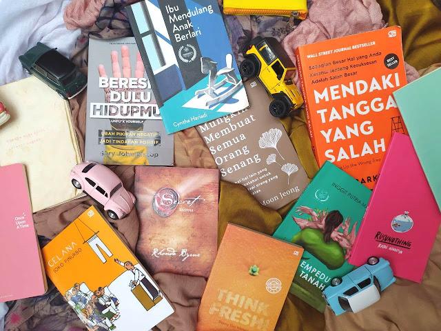 buku motivasi dan buku puisi