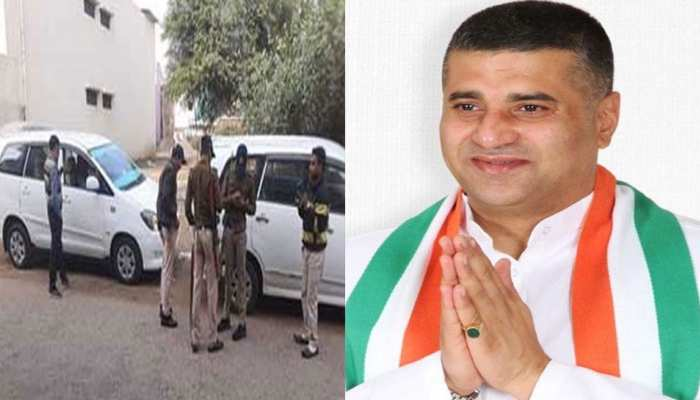 Betul congress MLA Daga raids 20 locations, evidences of tax evasion of crores