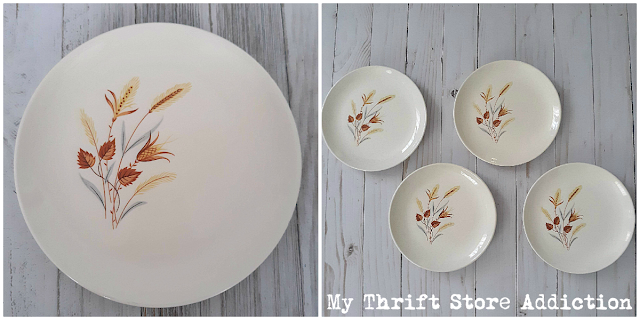 vintage Thanksgiving dishes