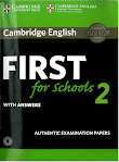 First for Schools 2 with answers (PDF + CD)