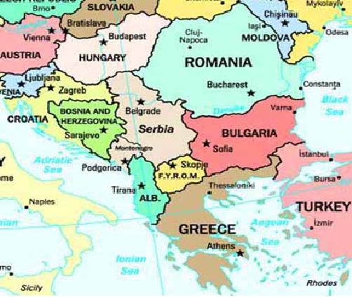 Balkans Region