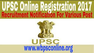 UPSC Online Registration 2017 For Central Government Jobs - image UPSC%2BOnline%2BRegistration%2Bfor%2BCentral%2BGovernment%2BJobs on http://wbpsconline.org