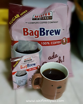 BagBrew 100% Coffee Sugar Added