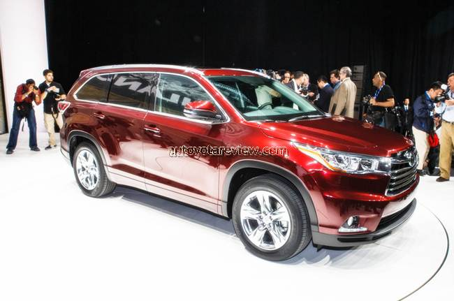 2018 Toyota Highlander Release Date To