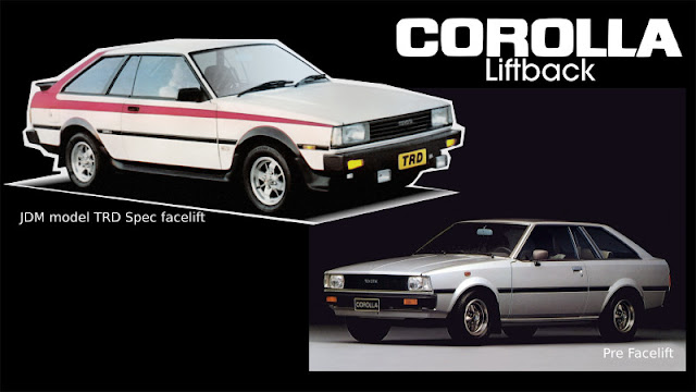 Jenis-Jenis Toyota Corolla litback
