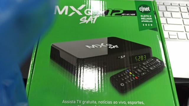 MXQ SAT X12 NOVA ATUALIZAÇÃO V01.06 - 02/06/2021