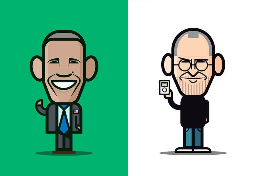 Chris Soueidan Loogart Caricatures