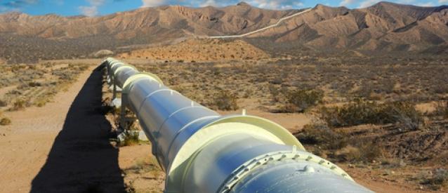 """El gasoducto Medgaz que une Argelia con España capaz de suplir el fin del contrato """"GME"""" que pasa por Marruecos."""