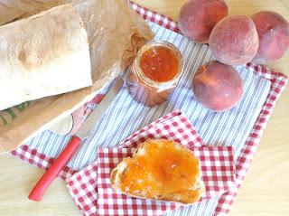 Peach Jam Thermomix