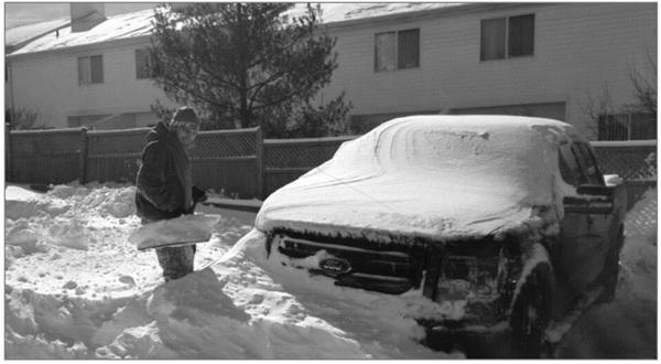 imagem a seguir demonstra o rigoroso inverno em alguns países europeus