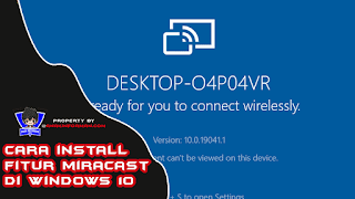 Cara Menginstall Miracast Di Windows 10 Pro