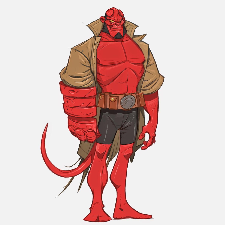Hellboy Charaktere