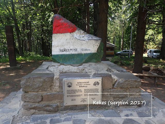 Korona Europy: Kekes (1014 m n.p.m.), najwyższy na Węgrzech