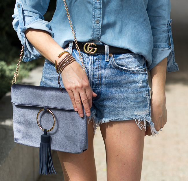 Denim cut offs #jeanshorts