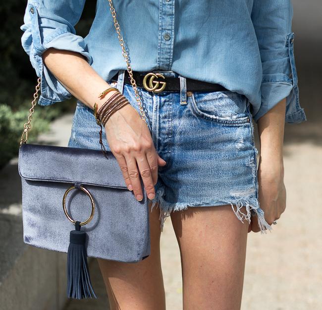 Denim cut offs #jeanshorts