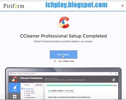 Hướng dẫn cách cài đặt CCleaner Professional Plus trên máy tính e