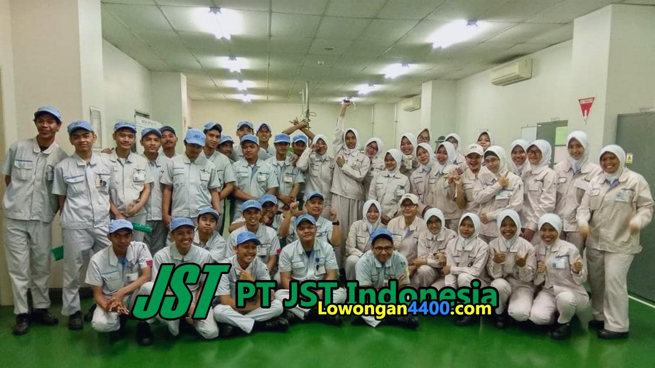 Lowongan Kerja PT JST Indonesia MM2100
