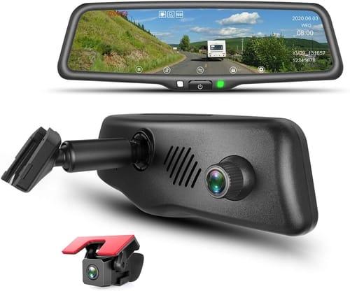 KBD YV96 Car Mirror Dash Cam Dual Lens