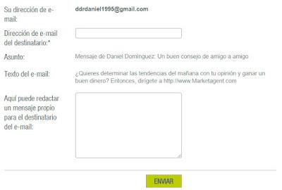 Invitar amigos market agent