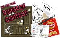One Page Dungeon Contest