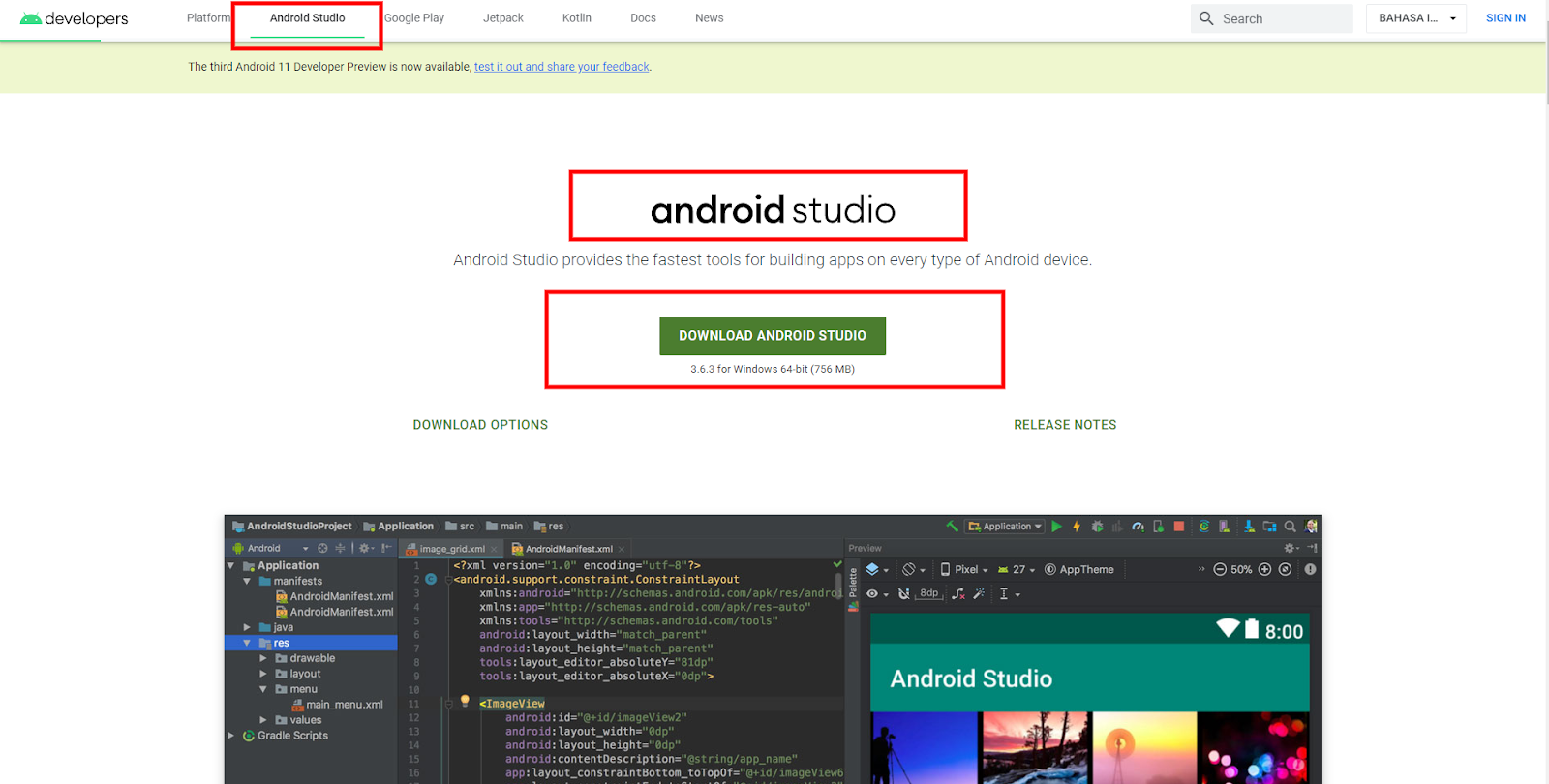 Android Studio Download (2020 Latest) for Windows 10, 8, 7