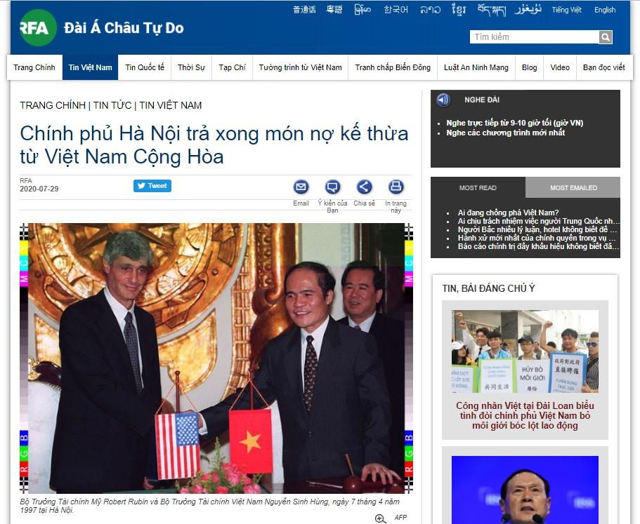 Việt cộng đút đầu vào thòng lọng của mỹ khi đã trả hết nợ của việt nam cộng hòa