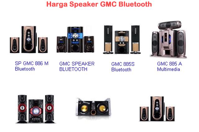 Harga Speaker GMC Bluetooth