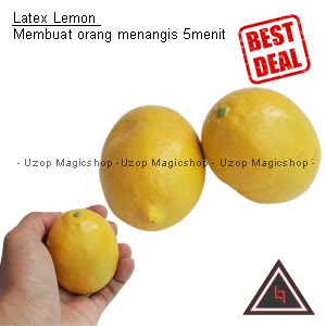 jual alat sulap latex lemon