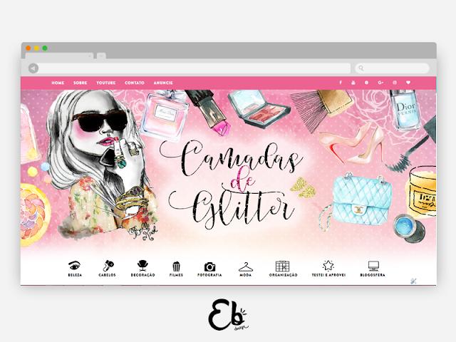 Blog Camadas de Glitter