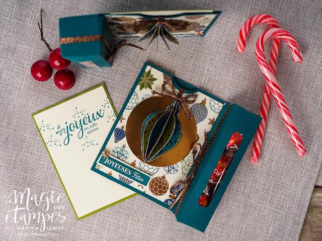 Vidéo: Boîte étiquette pour carte cadeau et chocolats -Stampin' Up!