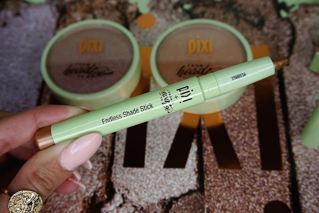 The Glow-y Powder and endless shade stick From Head to Toe Pixi collab review