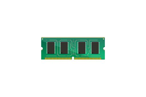 Jumlah kapasitas RAM terbaca