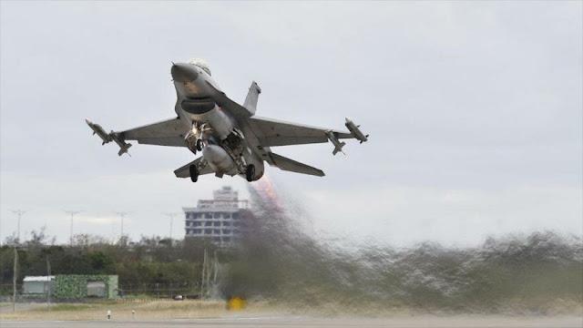 "China advierte a EEUU de ""consecuencias"" si vende F-16 a Taiwán"