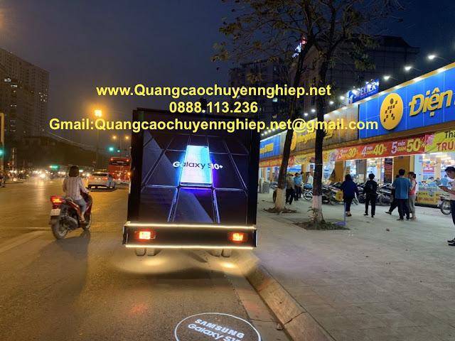 Quảng cáo LED trên thùng xe tải đặc biệt hiệu quả