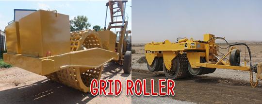 Fungsi Alat Berat Grid Roller