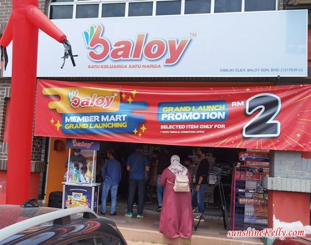 Baloy Member Mart Kota Damansara, Baloy Member Mart, shopping at Baloy, DJ Dina Nadzir, Online Offline Groceries, Dan Lim, Baloy Director, Lifestyle