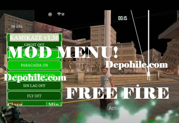 Free Fire v1.50.0 Kamikaze Menu Anten, Aim Hilesi Apk 2020