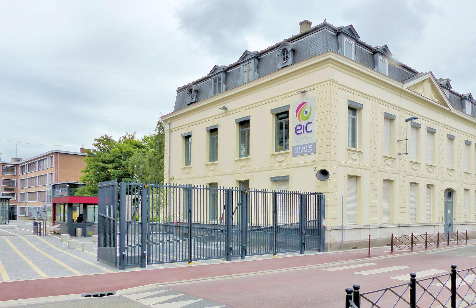 Lycée EIC LICP - Tourcoing, rue du Dragon.