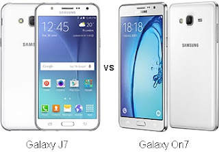 Perbandingan Samsung Galaxy J7 vs On7