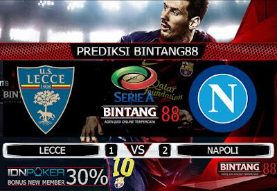 Prediksi Skor Lecce vs Napoli 22 September 2019